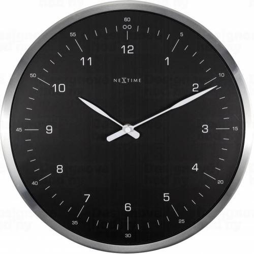 Dizajnové nástenné hodiny 3243zw Nextime 60 minutes 33cm