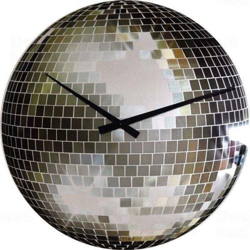 Dizajnové nástenné hodiny 8124 Nextime DISCO 43cm