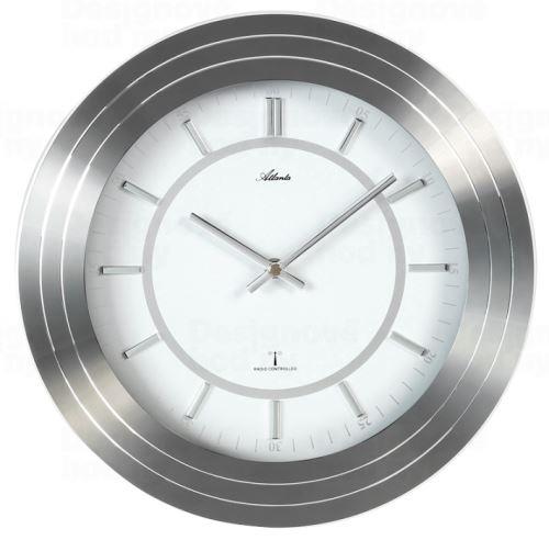 Dizajnové nástenné hodiny AT4375 riadené signálom DCF 30cm