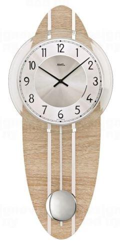 Nástenné kyvadlové hodiny 7420 AMS 54cm