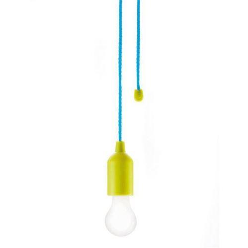 Závesné dizajnové LED svietidlo, zelené, Loooqs