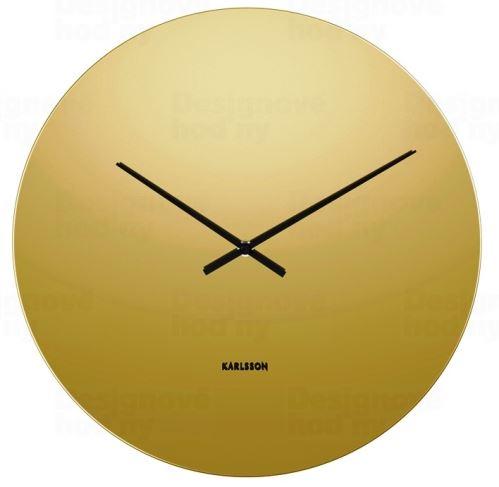 Dizajnové nástenné hodiny 5668GD Karlsson 40cm