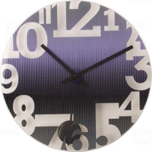 Dizajnové nástenné hodiny 8127pa Nextime SWING 43cm
