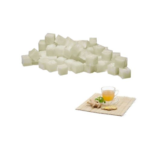 Scented cubes vonnný vosk do aromalámp - white tea & ginger (biely čaj a zázvor), 8x 23g