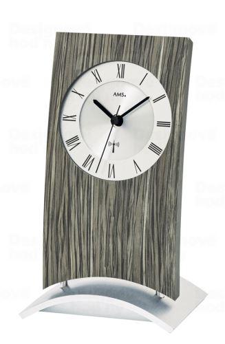 Stolové hodiny 5159 AMS riadené rádiových signálom 21cm
