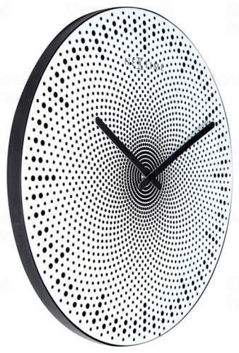 Dizajnové nástenné hodiny 3131 Nextime Dots 39cm