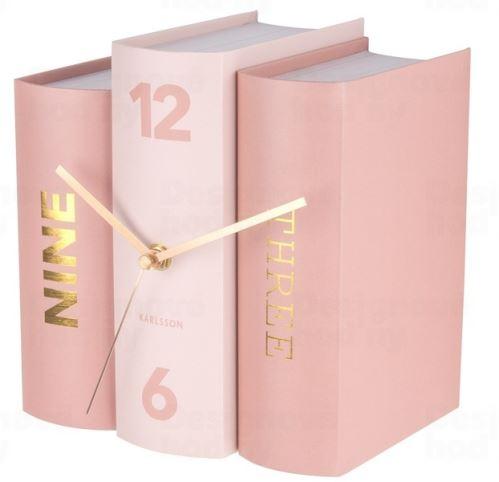 Dizajnové stolové hodiny 5730 Karlsson 20cm
