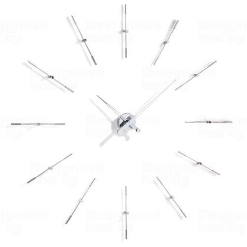 Dizajnové nástenné hodiny Nomon Merlin 12i 110cm