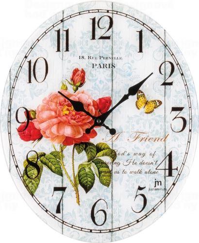 Dizajnové nástenné hodiny 14885 Lowell 39cm