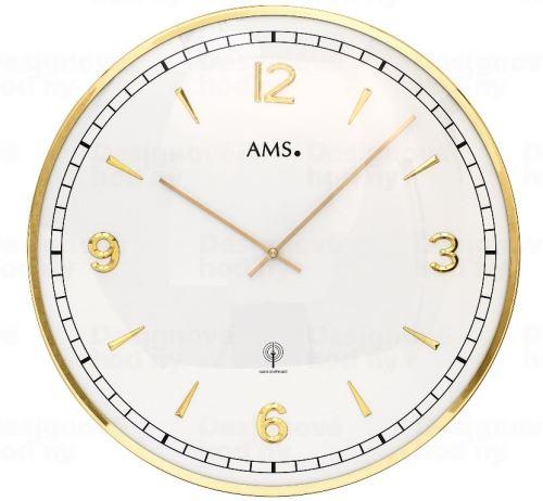 Nástenné hodiny 5609 AMS riadené rádiovým signálom 40cm