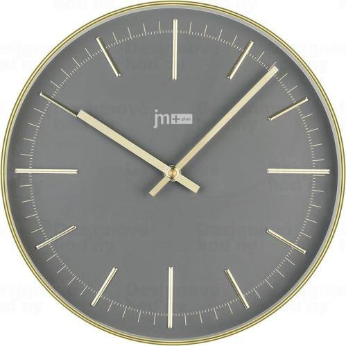 Dizajnové nástenné hodiny 14947G Lowell 28cm