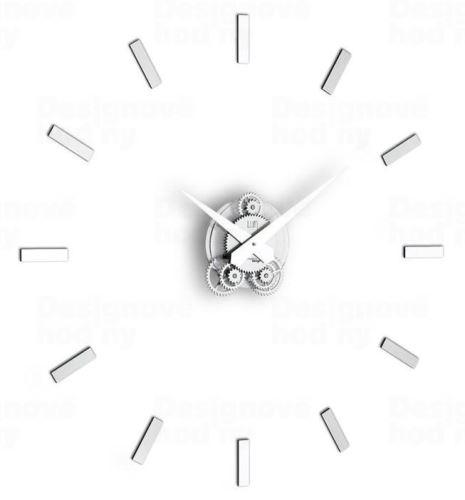 Dizajnové nástenné hodiny I201 IncantesimoDesign 80cm