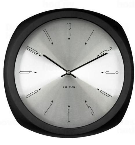 Dizajnové nástenné hodiny 5626BK Karlsson 31cm