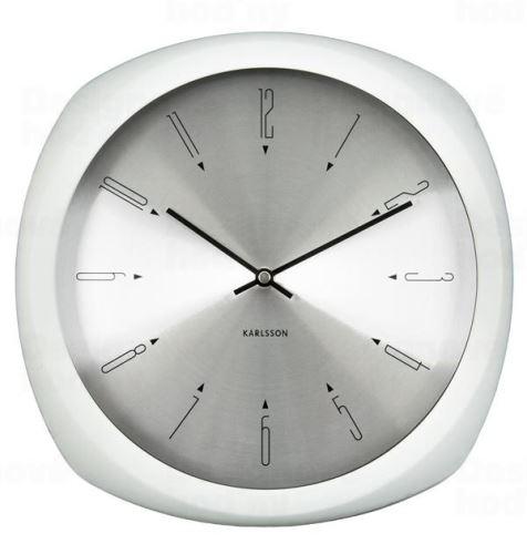 Dizajnové nástenné hodiny 5626WH Karlsson 31cm