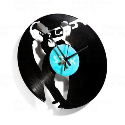Dizajnové nástenné hodiny Discoclock 035 Jazz 30cm