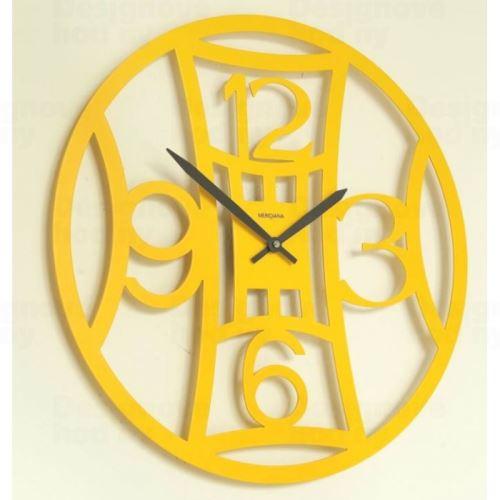 Dizajnové hodiny D & D 377T Meridiana 40cm