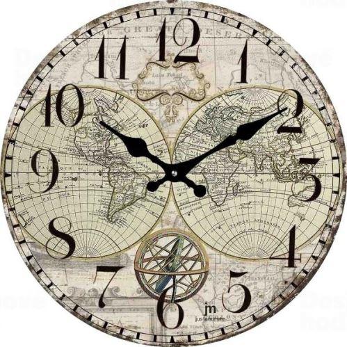 Dizajnové nástenné hodiny 14863 Lowell 34cm