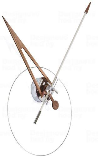 Dizajnové nástenné hodiny Nomon Cris white 70cm