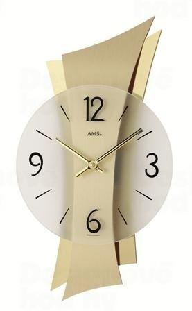 Nástenné hodiny 9397 AMS 43cm