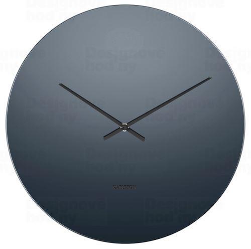 Dizajnové nástenné hodiny 5668BK Karlsson 40cm