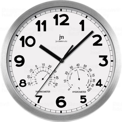 Dizajnové nástenné hodiny Lowell 14931B Design 30cm