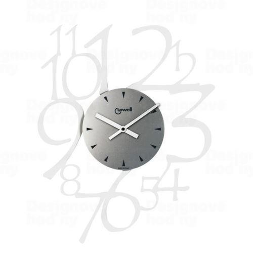 Dizajnové nástenné hodiny Lowell 05829 Design 50cm