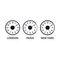 Sada hodín Balve World Clock, šírka od 120cm