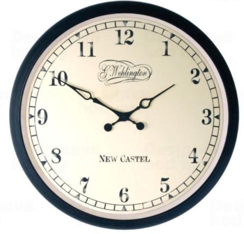 Dizajnové nástenné hodiny 2655 Nextime Antik 35cm