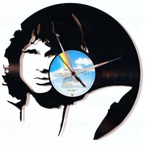 Dizajnové nástenné hodiny Discoclock 104 Jim Morrison 30cm