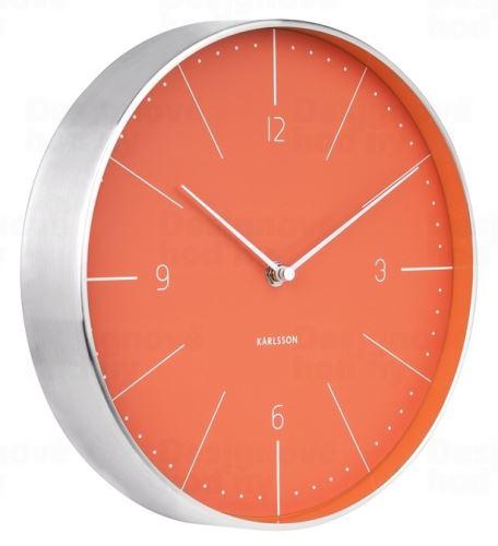 Dizajnové nástenné hodiny 5682OR Karlsson 28cm