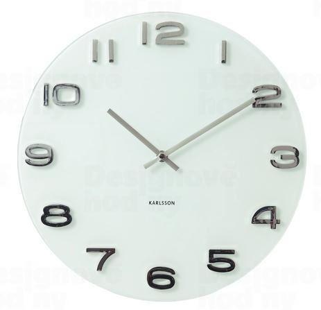 Dizajnové nástenné hodiny 4402 Karlsson 35cm