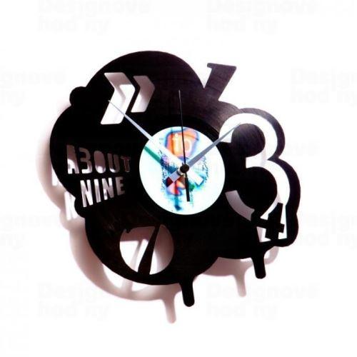 Dizajnové nástenné hodiny Discoclock 002 Pop 30cm