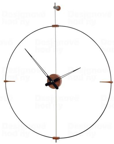 Dizajnové nástenné hodiny Nomon Bilbao Graphite Small 92cm