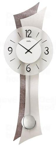 Kyvadlové nástenné hodiny 7426 AMS 70cm