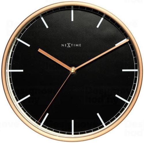 Dizajnové nástenné hodiny 3120st Nextime Company 25cm