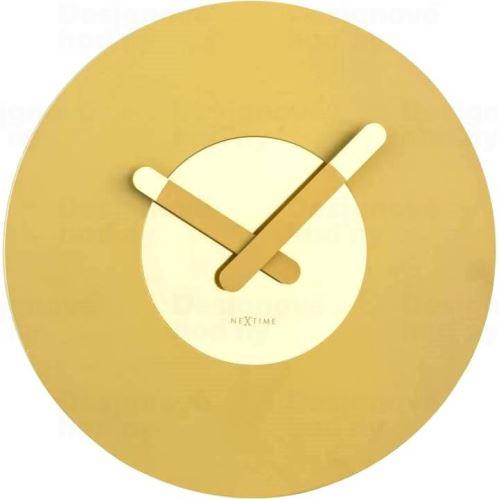 Dizajnové nástenné hodiny 3189go Nextime In Touch 40cm