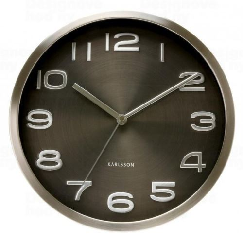 Dizajnové nástenné hodiny 4461 Karlsson 29cm