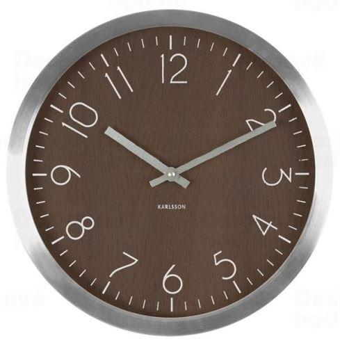 Dizajnové nástenné hodiny 5609DW Karlsson 35cm
