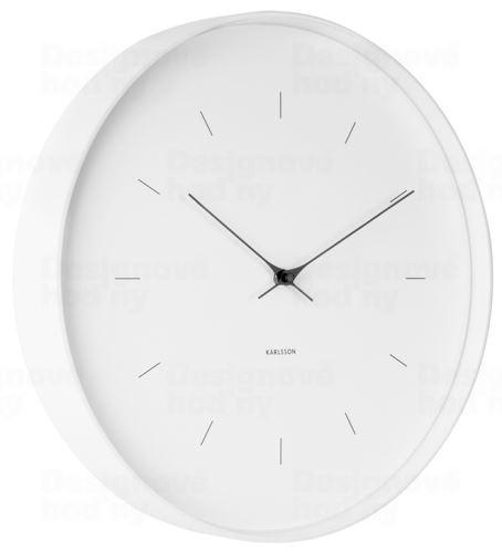 Dizajnové nástenné hodiny 5708WH Karlsson 27cm