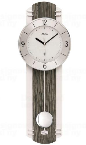 Kyvadlové nástenné hodiny 5294 AMS riadené rádiovým signálom 60cm