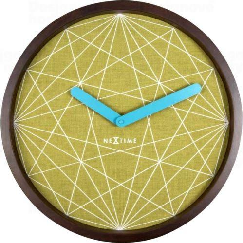 Dizajnové nástenné hodiny 3204 Nextime Calmer 40cm