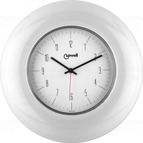 Dizajnové nástenné hodiny 03300B Lowell 33cm