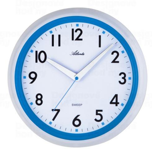 Dizajnové nástenné hodiny AT4314-5