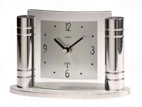 Stolové hodiny 5130 AMS riadené rádiovým signálom 18cm