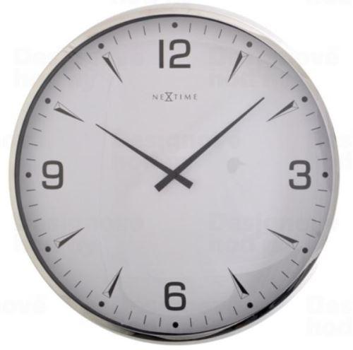Dizajnové nástenné hodiny 3035 Nextime Italy 39cm