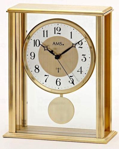 Stolové kyvadlové hodiny 5191 AMS riadené rádiových signálom 25cm