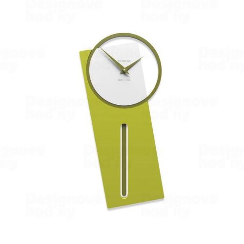 Dizajnové hodiny 11-005 CalleaDesign 59cm (viac farieb) Farba broskyňová svetlá - 22