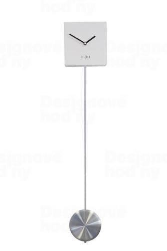 Dizajnové nástenné kyvadlové hodiny CL0316 fisúry 70cm