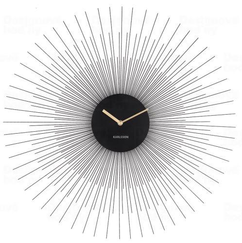 Dizajnové nástenné hodiny 5818BK Karlsson 60cm