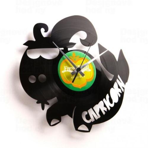 Dizajnové nástenné hodiny Discoclock Z10 Kozorožec 30cm